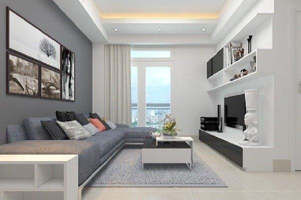 """""""Tuyệt chiêu"""" thiết kế phòng khách cho căn hộ chung cư nhỏ"""