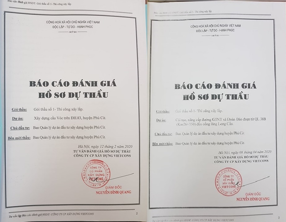 Hưng Yên: Nghi vấn Công ty TNHH Tiến Ngạn trúng liên tiếp nhiều gói thầu tại Phù Cừ?