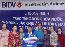 BIDV ủng hộ 23,03 tỷ đồng cho đồng bào Đồng bằng sông Cửu Long
