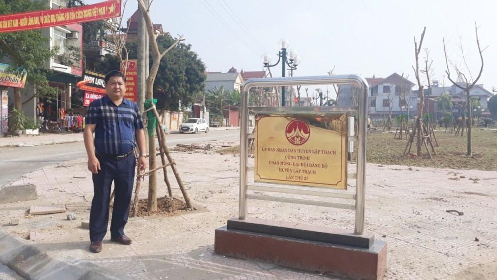 Lập Thạch (Vĩnh Phúc): Nhiều công trình chào mừng Đại hội Đảng bộ huyện hoàn thành đúng kế hoạch