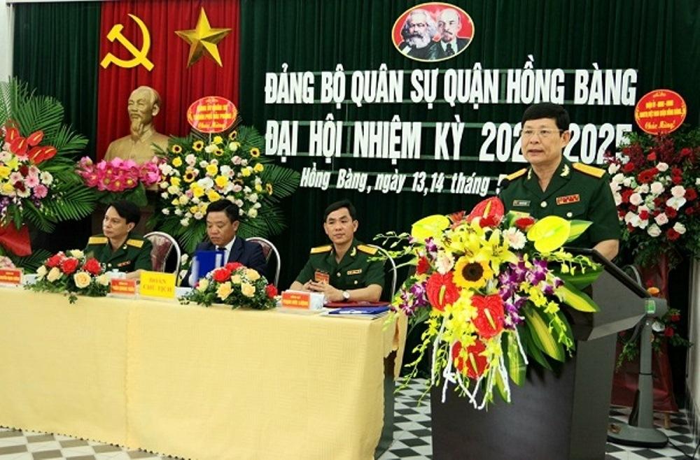Hải Phòng: Tổ chức thành công Đại hội Đảng bộ quân sự quận Hồng Bàng nhiệm kỳ 2020-2025