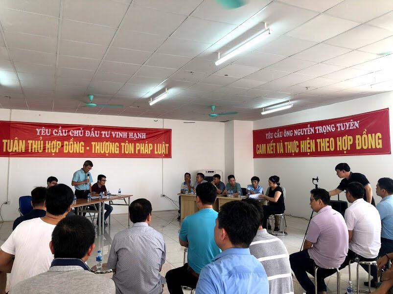 Thanh Trì (Hà Nội): Cư dân yêu cầu chủ đầu tư giải quyết dứt điểmnhững tồn tại, vướng mắc tại dự án Tứ Hiệp Plaza