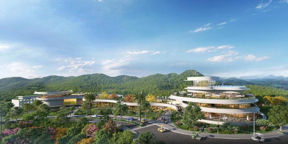Kiến trúc sư Laurence Savy mê mẩn địa hình ấn tượng của Legacy Hill tại Hoà Bình