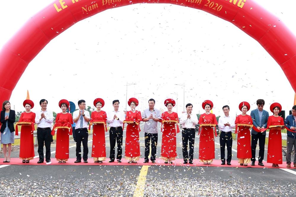 Khánh thành cầu Thịnh Long thuộc tuyến đường bộ ven biển tỉnh Nam Định