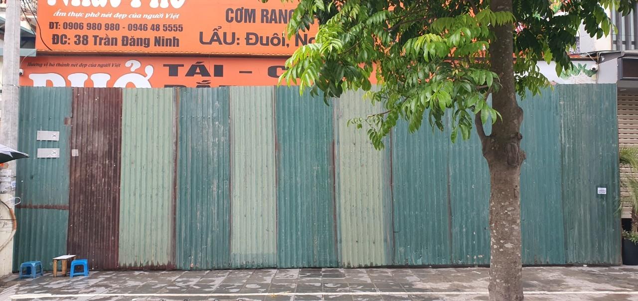 Cầu Giấy (Hà Nội): Tổ chức cưỡng chế phá dỡ công trình vi phạm tại đường Khúc Thừa Dụ