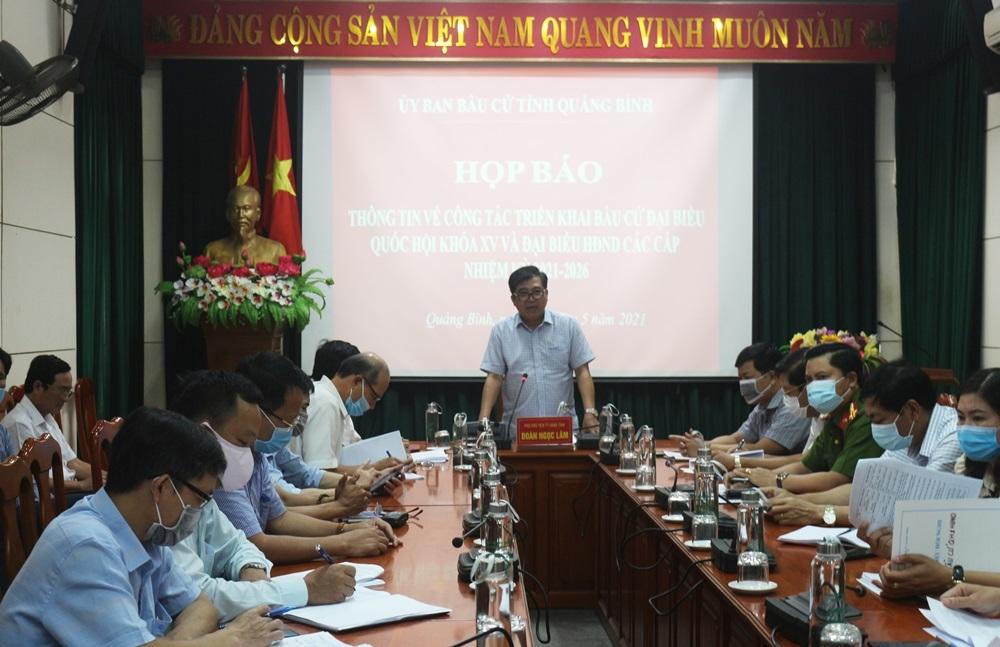 Quảng Bình: Cho phép bầu cử sớm ở 17 khu vực bỏ phiếu