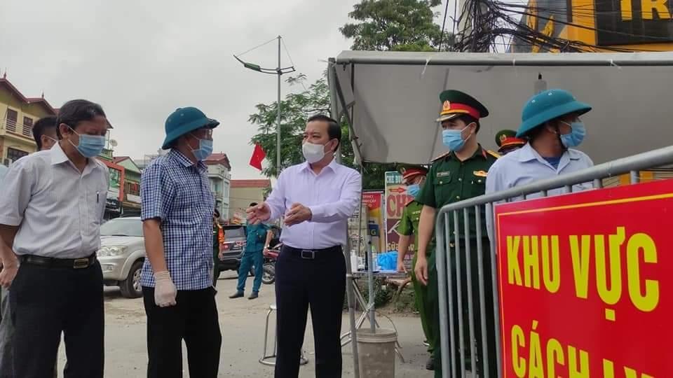 Khẩn trương xét nghiệm sàng lọc ở ổ dịch tại xã Tô Hiệu (Thường Tín) để giảm phạm vi phong tỏa