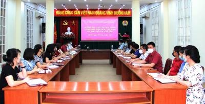 """Công đoàn Xây dựng Việt Nam phát động hưởng ứng cuộc thi trực tuyến """"Công nhân, viên chức, lao động với ngày hội của toàn dân"""""""