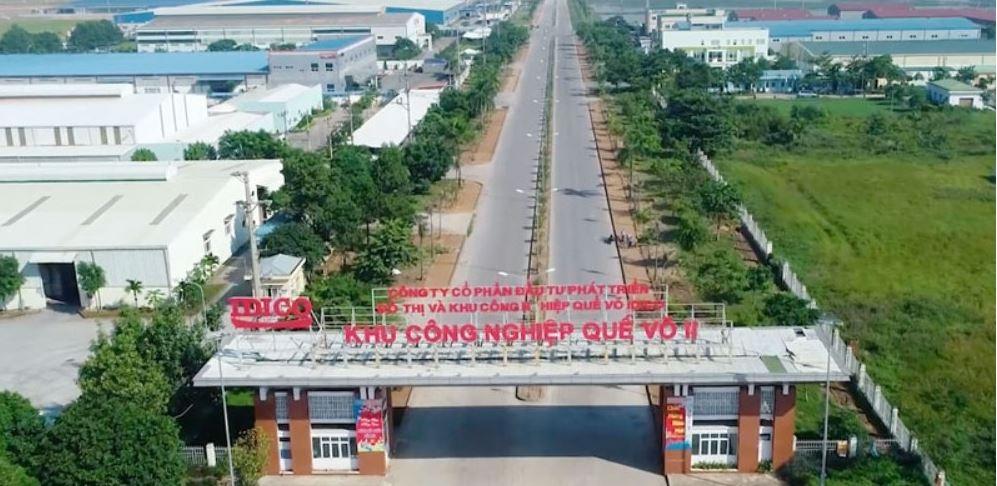 Bắc Ninh: Đầu tư phát triển kết cấu hạ tầng khu công nghiệp Quế Võ II - giai đoạn 2