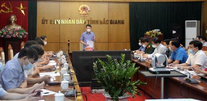 Bắc Giang: Dồn tổng lực cho nhiệm vụ phòng, chống dịch