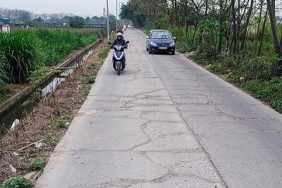 Hà Nội: Huyện Đan Phượng cải tạo, nâng cấp đường liên xã Tân Hội – Hạ Mỗ