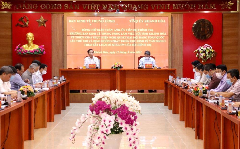 Khánh Hoà triển khai thực hiện Nghị quyết Đại hội Đảng toàn quốc lần thứ XIII và định hướng phát triển Khu kinh tế Vân Phong