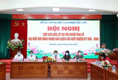 Cầu Giấy (Hà Nội): Phường Dịch Vọng đã sẵn sàng cho công tác bầu cử