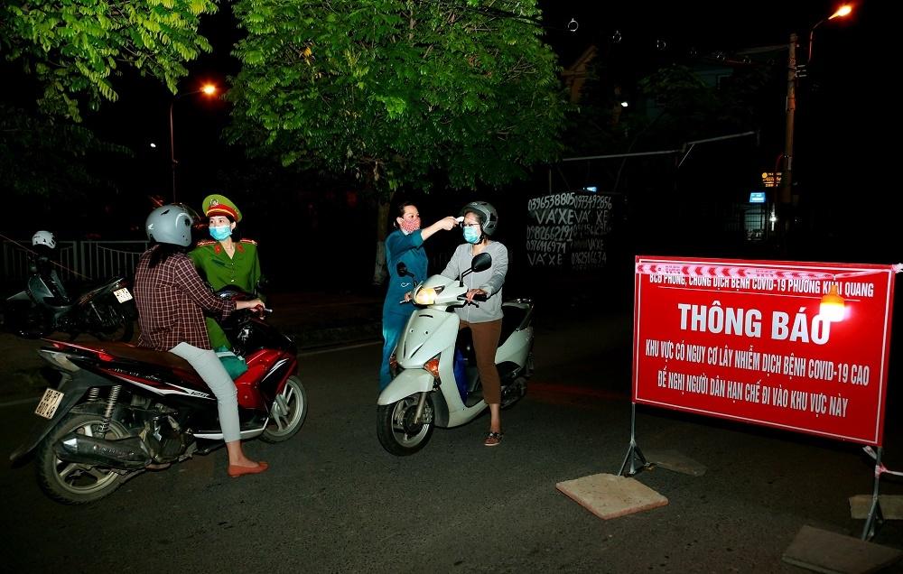 Vĩnh Phúc: Kết thúc cách ly xã hội thành phố Vĩnh Yên