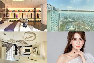 Khám phá trọn vẹn căn penthouse với giá hơn 20 tỉ đồng của Ngọc Trinh