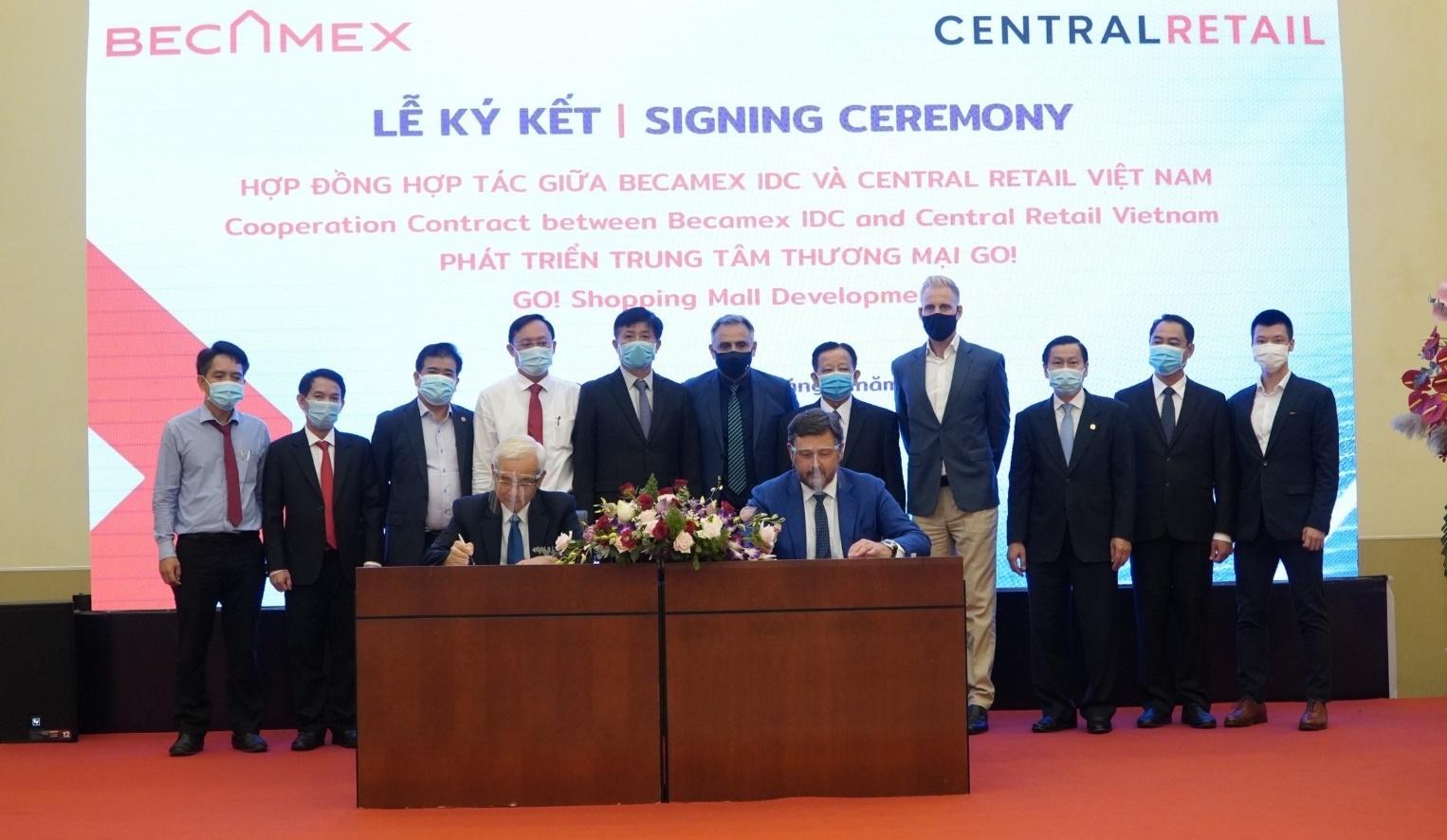 Becamex IDC hợp tác với Central Retail để xây trung tâm thương mại 35 triệu USD