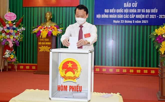 Trên 592 nghìn cử tri Yên Bái nô nức trong ngày hội toàn dân