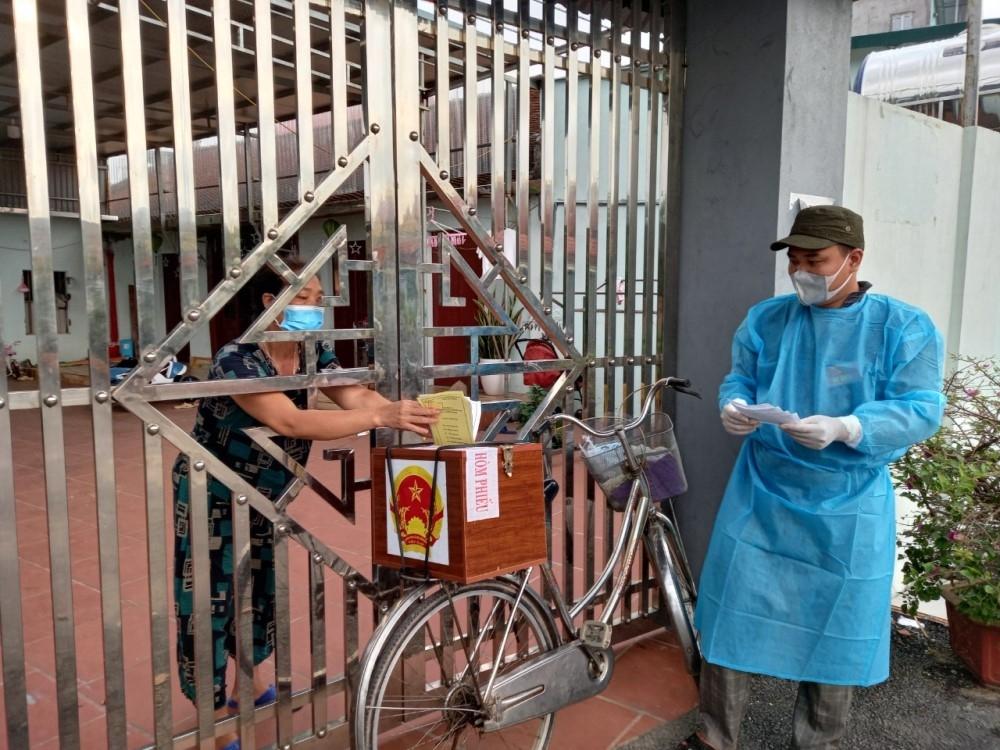 Bắc Giang: Đảm bảo bầu cử an toàn giữa tâm dịch Covid-19