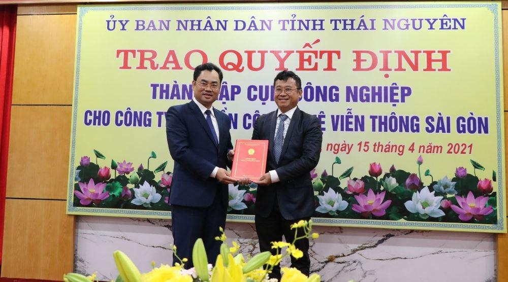 Thái Nguyên: Thành lập thêm 2 Cụm công nghiệp Yên Lạc và Quang Sơn 1
