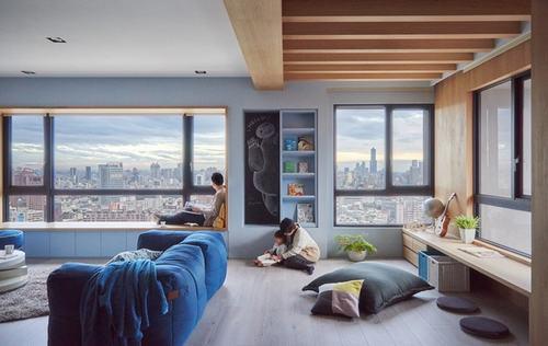 080740baoxaydung image003 Thiết kế căn hộ lý tưởng cho gia đình có con nhỏ