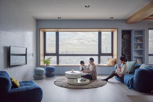 080740baoxaydung image004 Thiết kế căn hộ lý tưởng cho gia đình có con nhỏ
