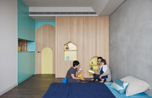 080740baoxaydung image010 Thiết kế căn hộ lý tưởng cho gia đình có con nhỏ