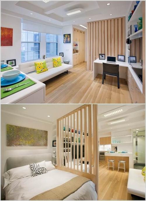 095516baoxaydung image004 Chia sẻ những ý tưởng chia không gian trong căn hộ Studio