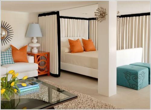 095516baoxaydung image006 Chia sẻ những ý tưởng chia không gian trong căn hộ Studio