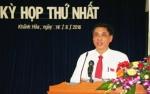 Thủ tướng phê chuẩn Chủ tịch tỉnh Khánh Hòa