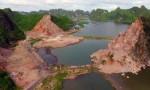 Kiểm tra việc khai thác đá trên Vịnh Hạ Long