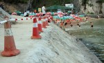 Hải Phòng: Xung quanh việc thi công kè bê tông bãi tắm Cát Cò 1, cơ quan quản lý chưa hợp tác với báo chí