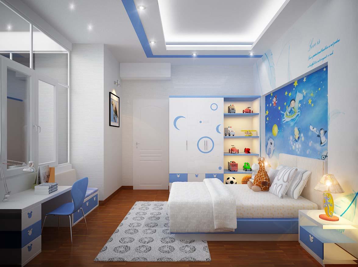 Kết quả hình ảnh cho Lưu ý khi thiết kế kế nội thất phòng ngủ trẻ em