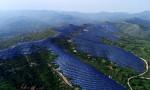 Trang trại hàng nghìn pin Mặt Trời trên dãy núi Trung Quốc
