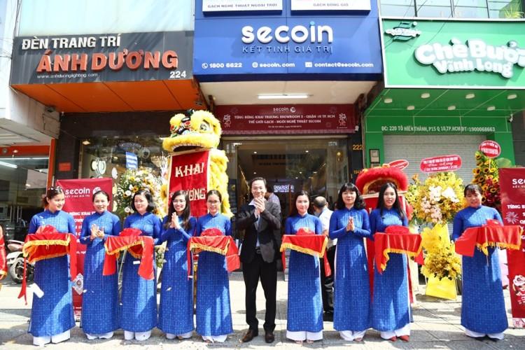 SECOIN khai trương showroom thứ 2 tại TP Hồ Chí Minh