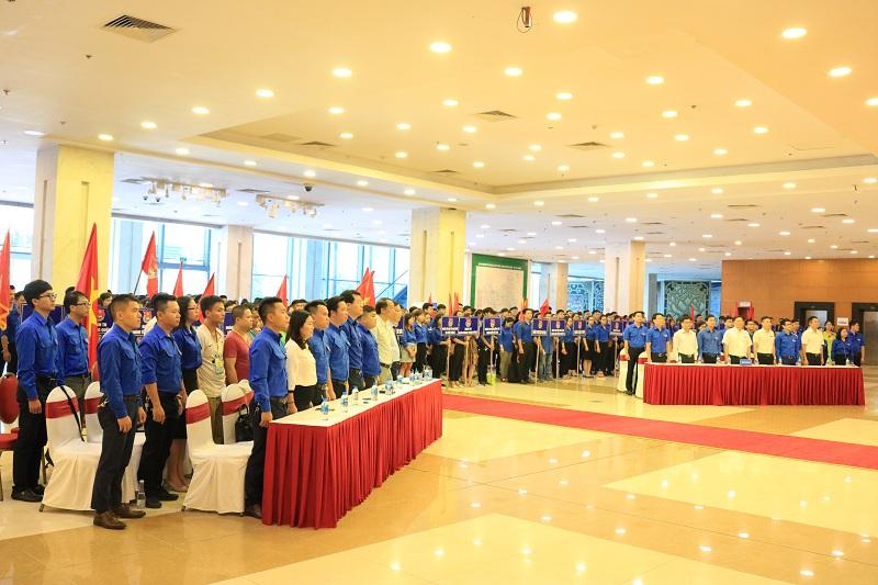 Đoàn Khối các cơ quan Trung ương tổ chức Lễ ra quân Chiến dịch thanh niên tình nguyện hè 2019
