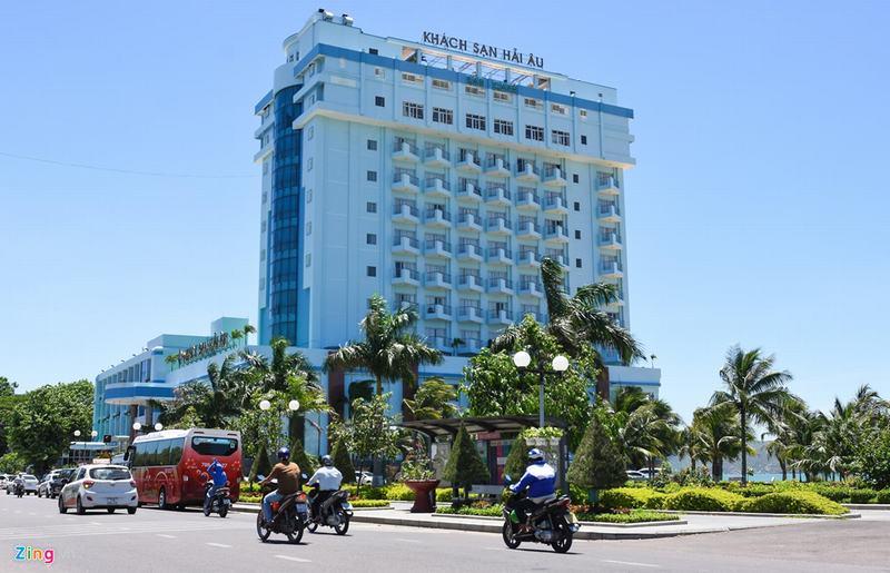 3 khách sạn bề thế sắp bị di dời vì chắn biển Quy Nhơn