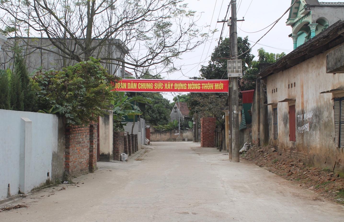 Vĩnh Tường (Vĩnh Phúc): Phấn đấu về đích Nông thôn mới trong năm 2019