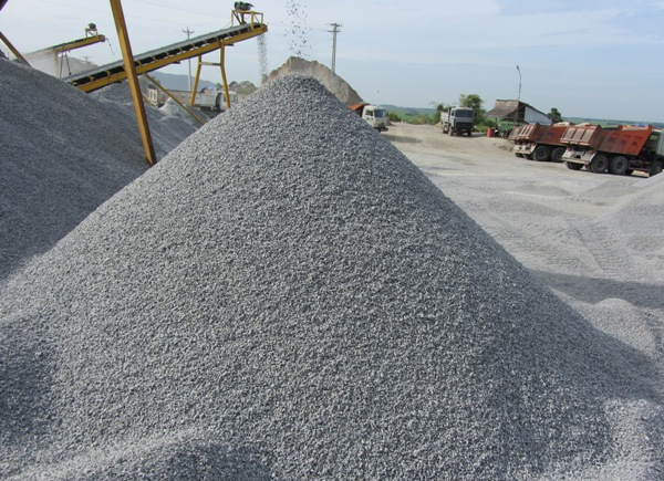 Sử dụng cát nhân tạo trong sản xuất bê tông