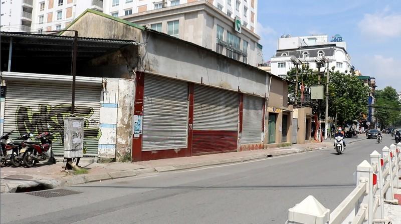 """Hà Nội: Dự án Sunprotexim trên phố Cát Linh """"ì ạch"""" nhiều năm không thể triển khai"""