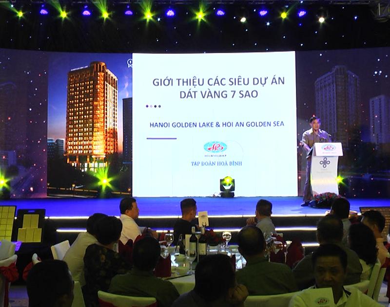 Đại gia Đường bia mở bán hai dự án dát vàng tại Hà Nội và Hội An