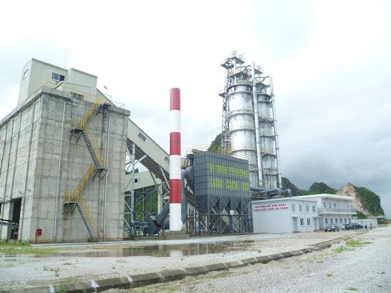 Góp ý việc thực hiện dự án nhà máy sản xuất vôi công nghiệp và thu hồi khí CO2