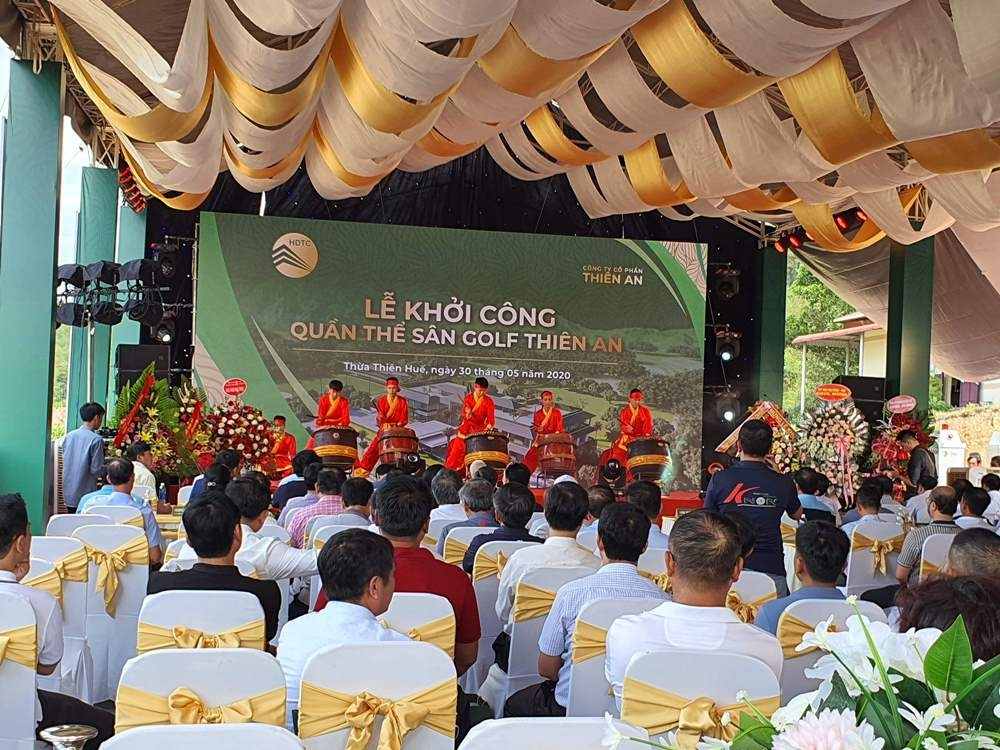 Thừa Thiên - Huế: Bất chấp cảnh báo, dự án sân golf vẫn khởi công khi chưa có Giấy phép xây dựng