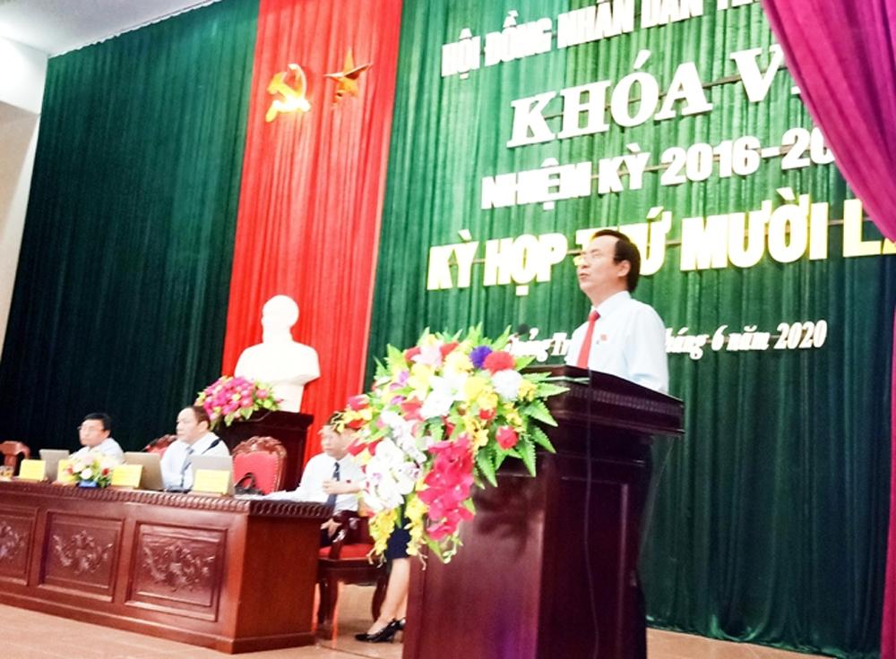 Quảng Trị có tân Chủ tịch UBND tỉnh
