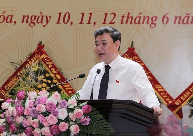 Thanh Hóa: Bí thư Thành ủy tái đắc cử nhiệm kỳ 2020 - 2025
