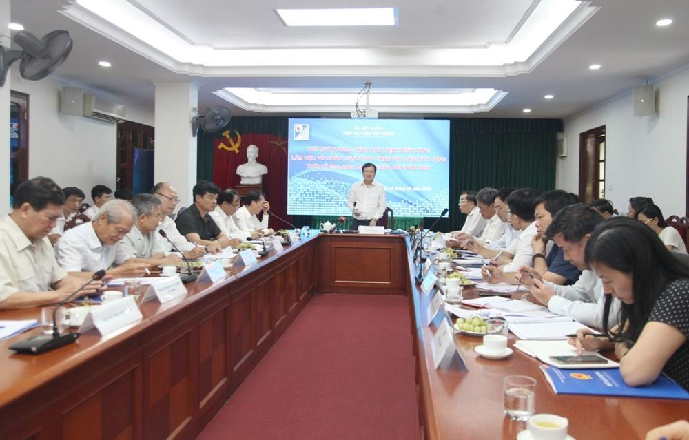 Phó Thủ tướng Chính phủ Trịnh Đình Dũng: Cần sớm hoàn thiện Chiến lược phát triển vật liệu xây dựng