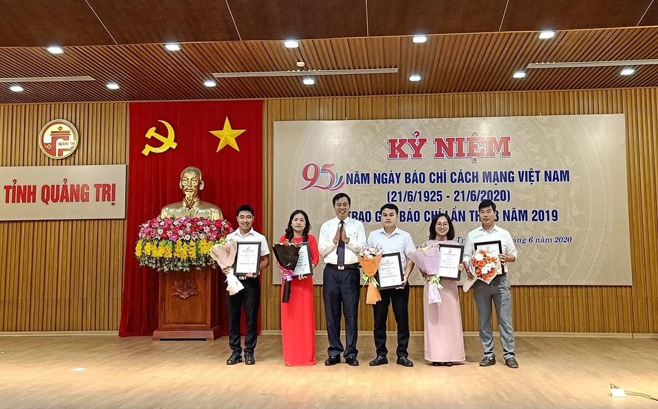 Quảng Trị: Trao giải báo chí lần thứ 3