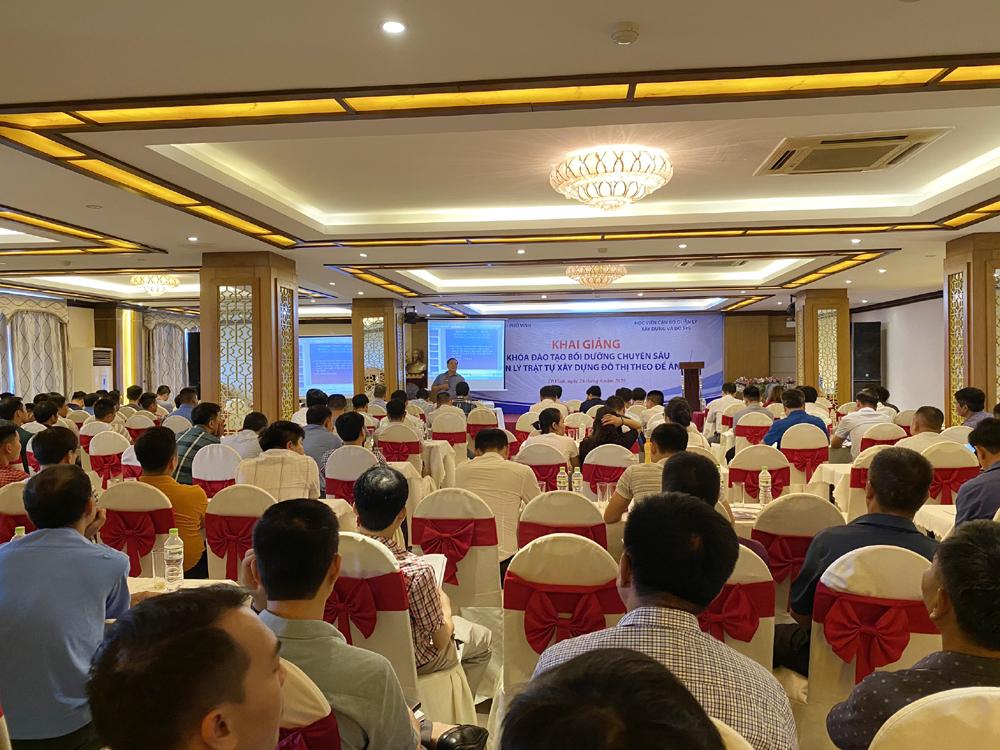 Nghệ An: Nâng cao năng lực quản lý trật tự xây dựng đô thị theo Đề án 1961