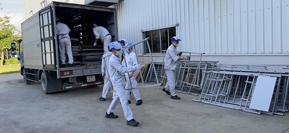 Chuẩn bị phương án cấp nước sạch cho công nhân sử dụng trong chỗ ở tạm