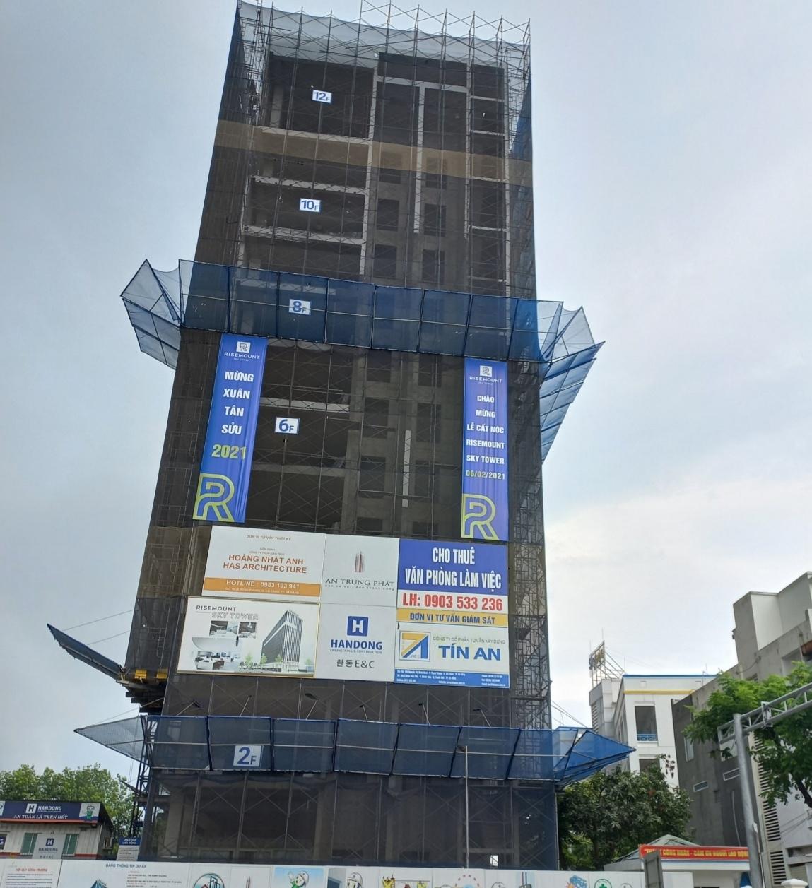Đà Nẵng: Phạt chủ công trình xây dựng sai giấy phép