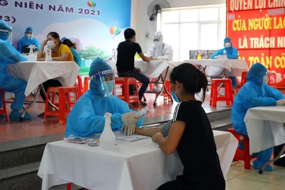Bắc Giang hoàn thành tiêm 150.000 liều vaccine nhanh hơn 2 ngày so với dự kiến